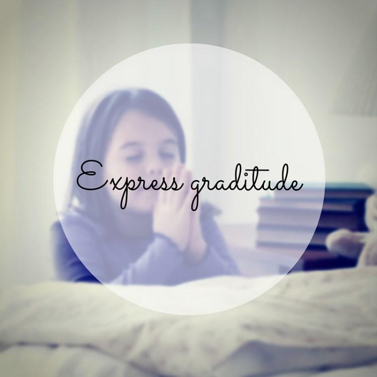 express graditude