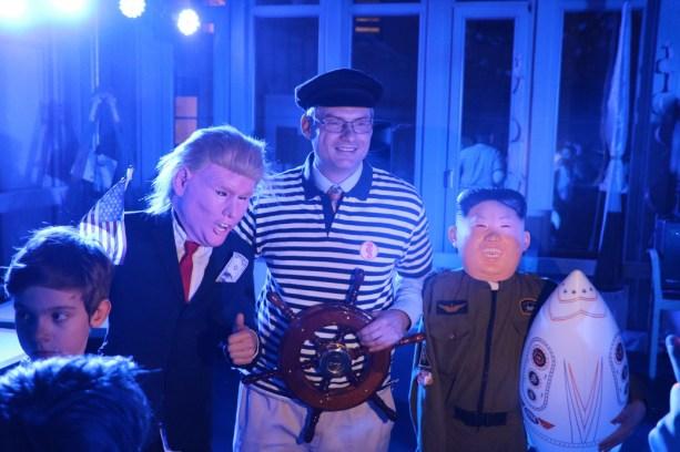 Fasching2018-Herr Martini und die Gewinner des Kostümwettbewerbs