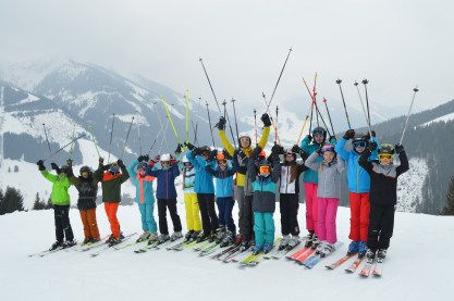 Skifahren im Nebel