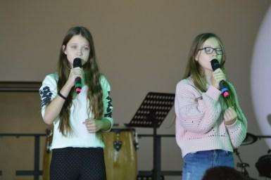 Alicia und Jasmina Becker mit einem gefeierten Duett