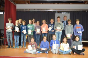Känguru-Wettbewerb: Preisverleihung an zahlreiche erfolgreiche isgy-Schüler/innen