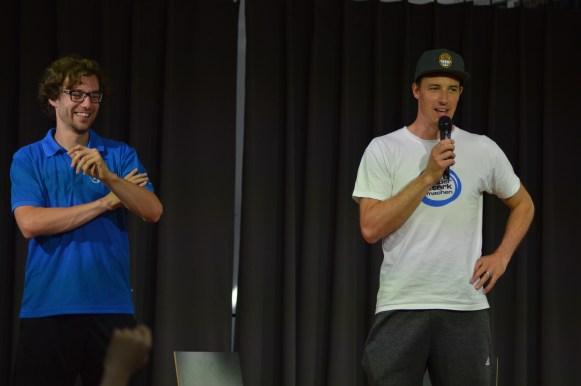 Ben Schulze und Dominik Klein