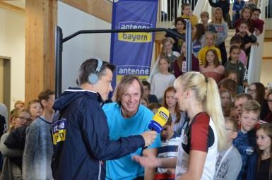 Live im Radio bei Antenne Bayern