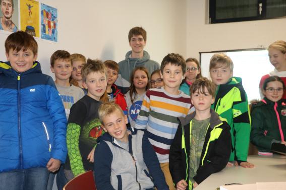 Jugend-Forscht-Bundesgewinner besucht das ISGY