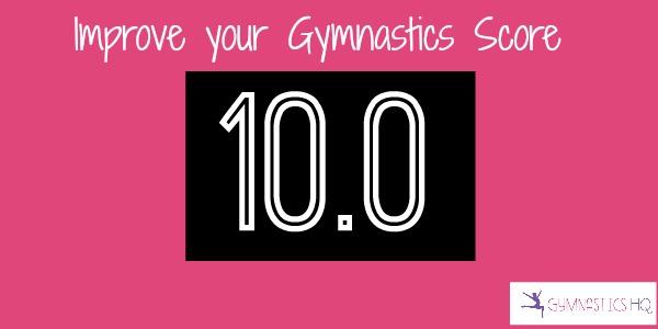 improve your gymnastics score