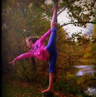 gymnastics exercises at home