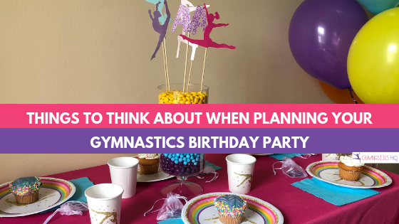 Gymnastics Party Ideas Supplies For A Home Or Gym Party