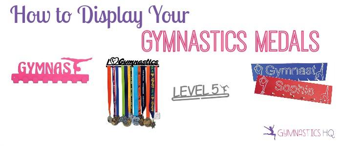 display gymnastics medals