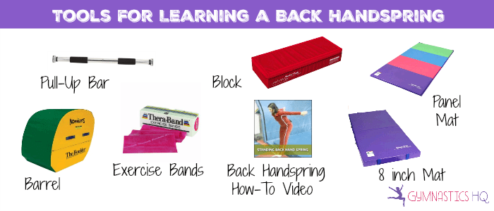 tools for learning a backhandspring