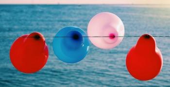 balloons at olympics party