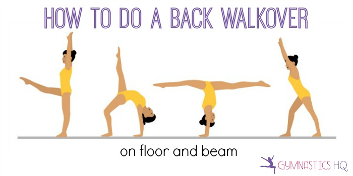 Image result for back walkover