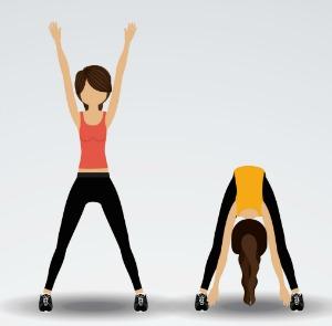 gymnastics warm up