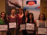 GPEI awards 2013- Chelsea MacLeod, Paige Mills, Sharon Gareau, Alicia Muttart, Tessa MacGuigan, Sydney Sear