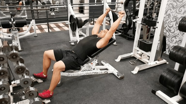 Cable Incline Pushdown