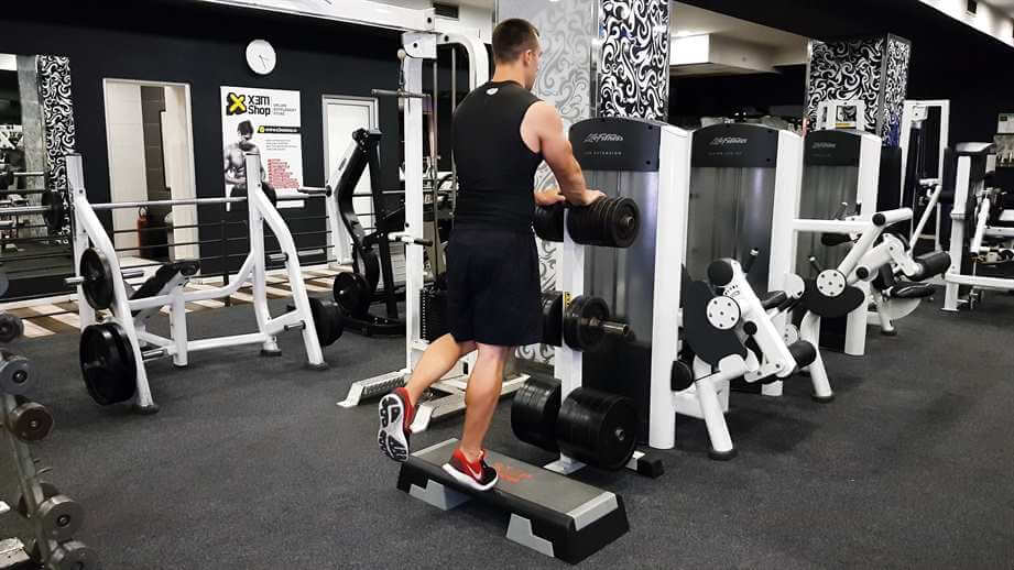 One Leg Body weight Calf Raise