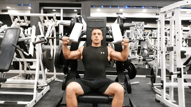 Seated Machine Shoulder Press