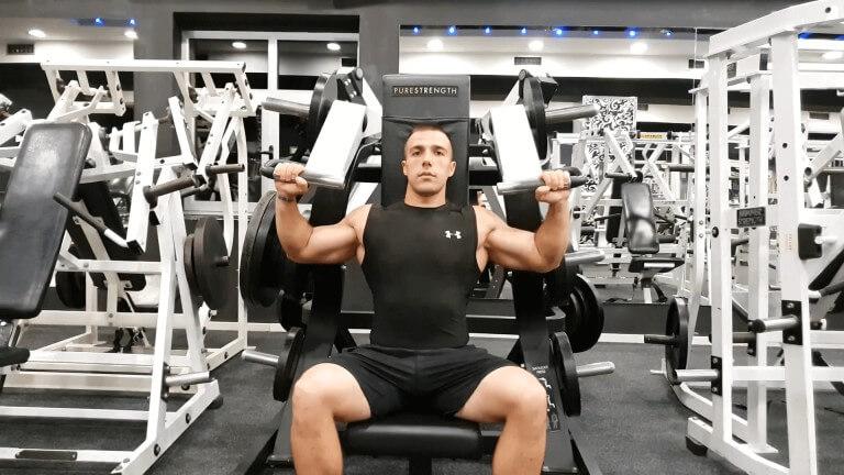 Seated Machine Shoulder Press
