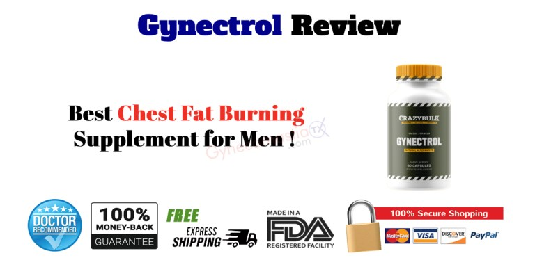 Gynectrol Featured Best Chest Fat Burning Pill for Men