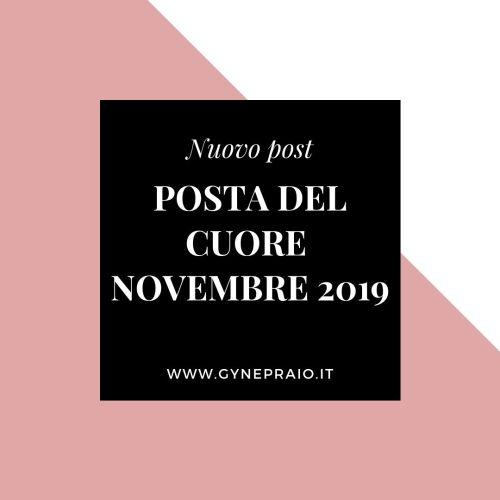 posta del cuore novembre 2019
