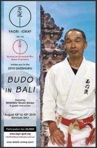 BUDO IN BALI 2019!