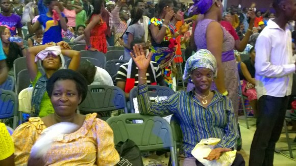 Crowd at RCCG's 73 Hours 2015