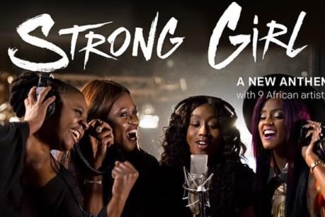 Waje -- Strong Girl Cover Art
