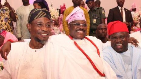 Ogbeni Rauf Aregbesola, Governor, Abiola Ajimobi  and Gov Akinwumi Ambode