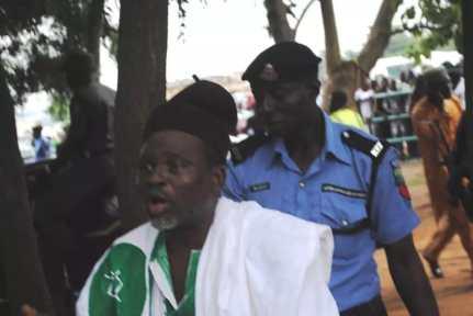 Angry protester who attacked Saraki