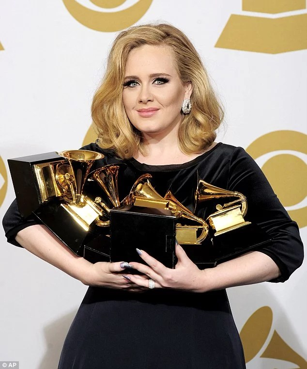 Adele Wins Grammy Award