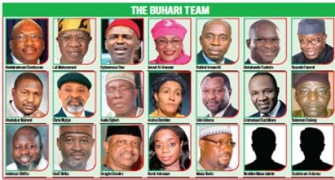 Ministers Under President Buhari