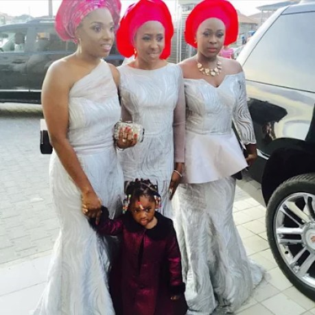 Ubi Franklin & Lilian Esoro White Wedding Photos 11