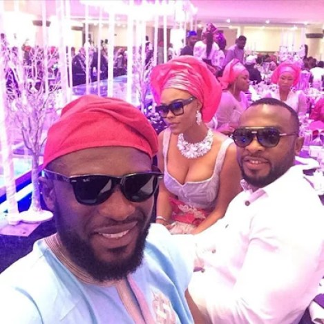 Ubi Franklin & Lilian Esoro White Wedding Photos 27