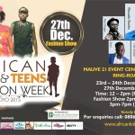 #AKTFW15: African Kids & Teens Fashion Week 2015 Holds in Ibadan , Check Out for More Details