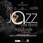Did You Love Good Music? Join Adetoun, Peteru, Shete and Others for Babatunde & Friends Jazz Concert