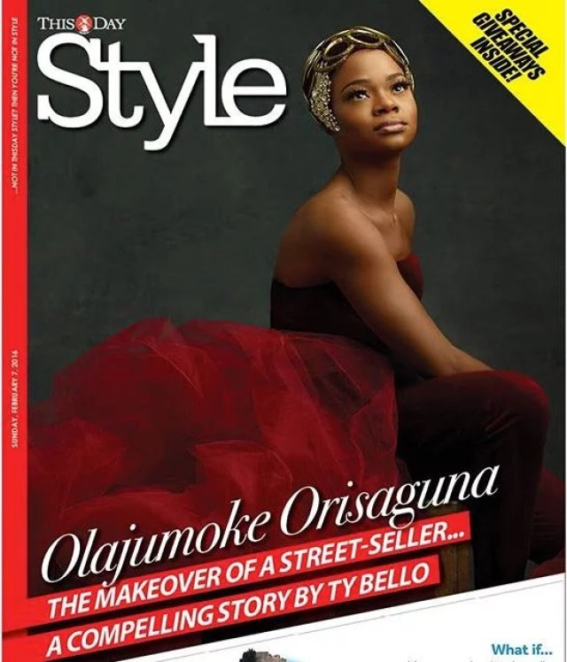 Agege bread seller Olajumoke Orisaguna on Cover of This Day Style