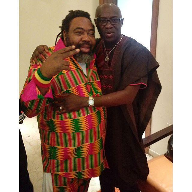 Ras Kimo and Adewale Ayuba