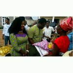Nollywood Actress Mercy Johnson and Her Husband Celebrate Easter Season by Giving Back to Less Privileged People