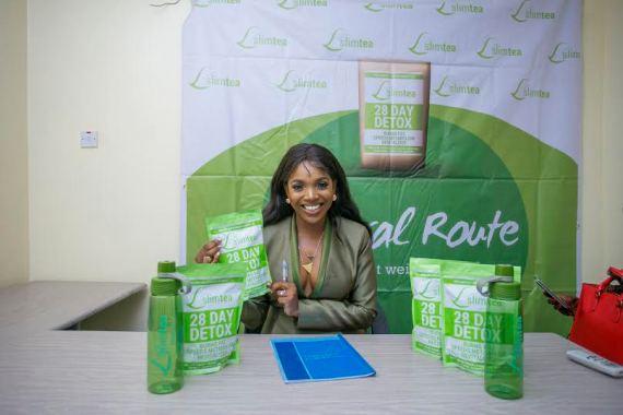Annie Idibia Becomes Slim Team Ambassador