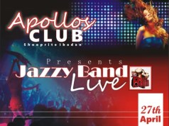 Jazzy Band at Appolo Club