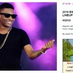 The Boy Going Global! Wizkid to Perform Alongside with Mariah Carey, Jidenna, Ciara, Kendrick Lamar & Others at Essence Festival 2016