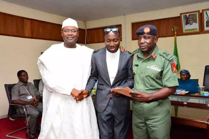 INEC Employed Youth Corps Who Lost His Sight