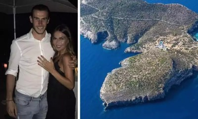 Real Madrid Star Gareth Bale Rent Off Entire Island to Propose to His Girlfriend