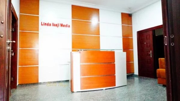 Linda Ikeji Media Office in Lekki
