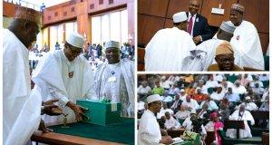 Buhari Presents 2017 Budget