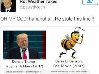 Preisdent Donald Trump Inaugural Speech