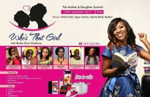 Ronke Giwa Onafuwa Present Whos That Girl