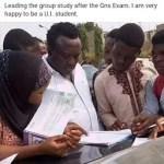 Veteran Fuji Music Maestro Saheed Osupa Pictured Leading A Group Study at University of Ibadan