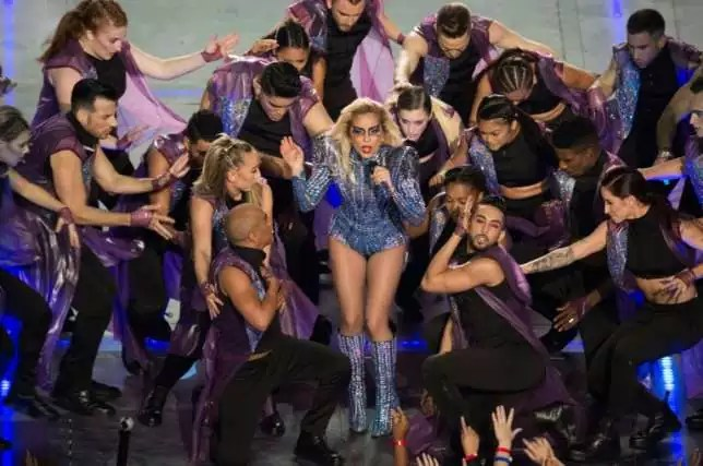 Lady Gaga Super Bowl Half-time Performance