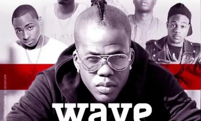 Iceberg Slim -- Wave (Remix) Ft. Davido, Shatta Wale, Terry Apalla, Wale Turner & LAX Cover Art