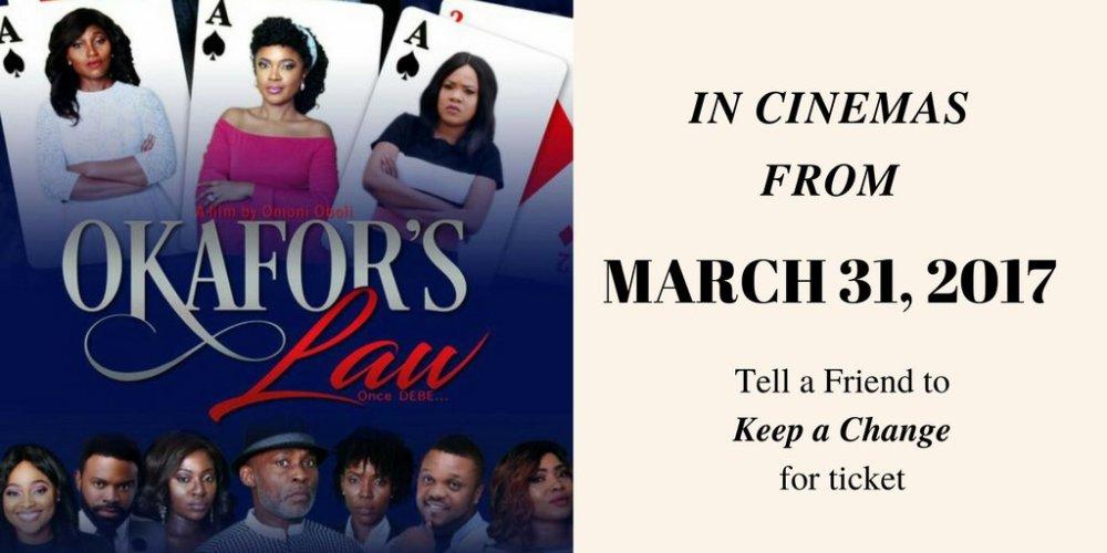 Okafors Law to Start Showing in Cinema 01